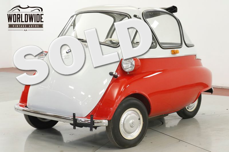 1956 BMW ISETTA 300 RARE BUBBLETOP AND SUNROOF RESTORED 4-SPEED | Denver, CO | Worldwide Vintage Autos