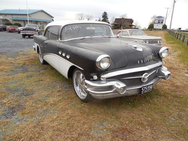 1956 Buick RIVERA 2 door no post