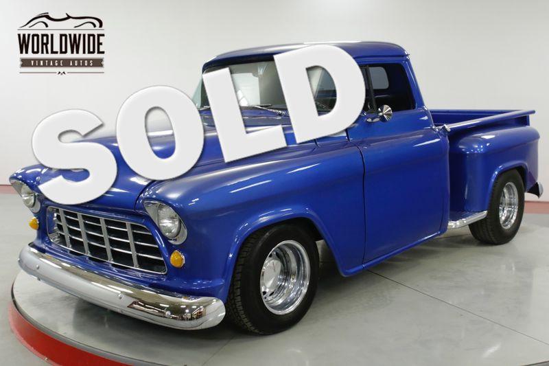 1956 Chevrolet 3100 CHOPPED PICKUP V8 SHORT BED STEPSIDE  | Denver, CO | Worldwide Vintage Autos