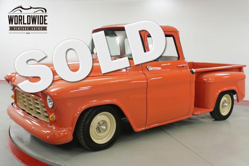 1956 Chevrolet APACHE  RESTORED STREET ROD BIG WINDOW V8 AUTO  | Denver, CO | Worldwide Vintage Autos