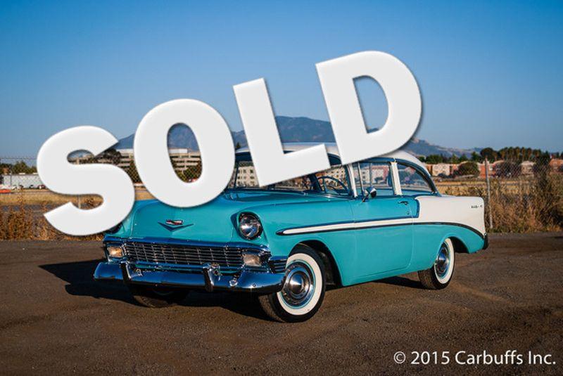 1956 Chevrolet Bel Air    Concord, CA   Carbuffs