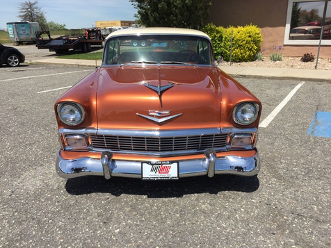 1956 Chevrolet Bel Air 2 door | Marriott-Slaterville, UT | Top Line Auto Sales in Marriott-Slaterville, UT