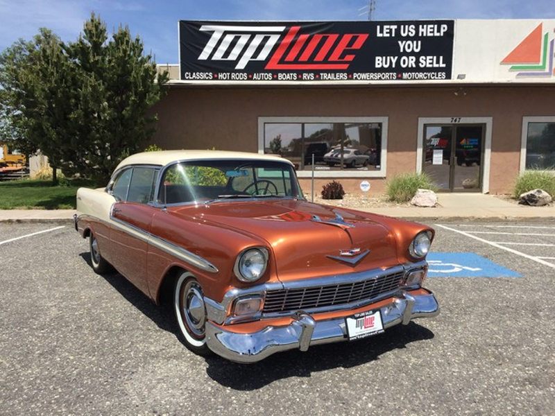 1956 Chevrolet Bel Air 2 door | Marriott-Slaterville, UT | Top Line Auto Sales
