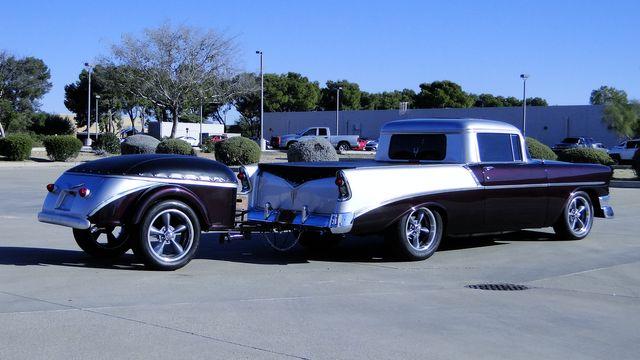1956 Chevrolet BELAIR CUSTOM W/TRAILER EL CAMINO Phoenix, Arizona 21