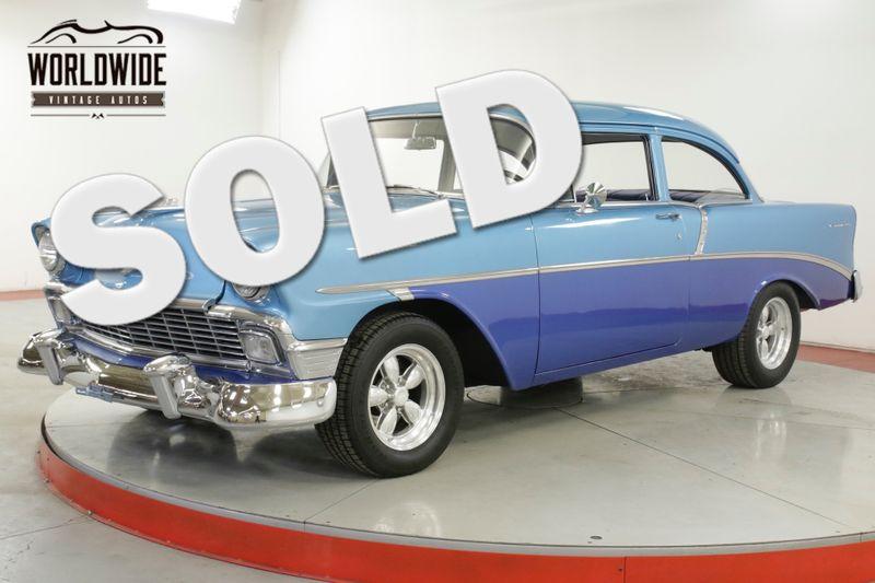 1956 Chevrolet BELAIR 350 V8 MANUAL PS PB TILT COLUMN MUST SEE  | Denver, CO | Worldwide Vintage Autos