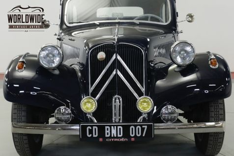 1956 Citroen TRACTION AVANT  RARE RESTORED  | Denver, CO | Worldwide Vintage Autos in Denver, CO