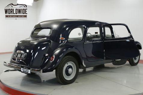 1956 Citroen TRACTION AVANT  RARE RESTORED  | Denver, CO | Worldwide Vintage Autos in Denver, CO