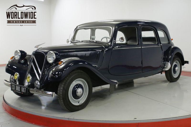 1956 Citroen TRACTION AVANT  RARE RESTORED  | Denver, CO | Worldwide Vintage Autos