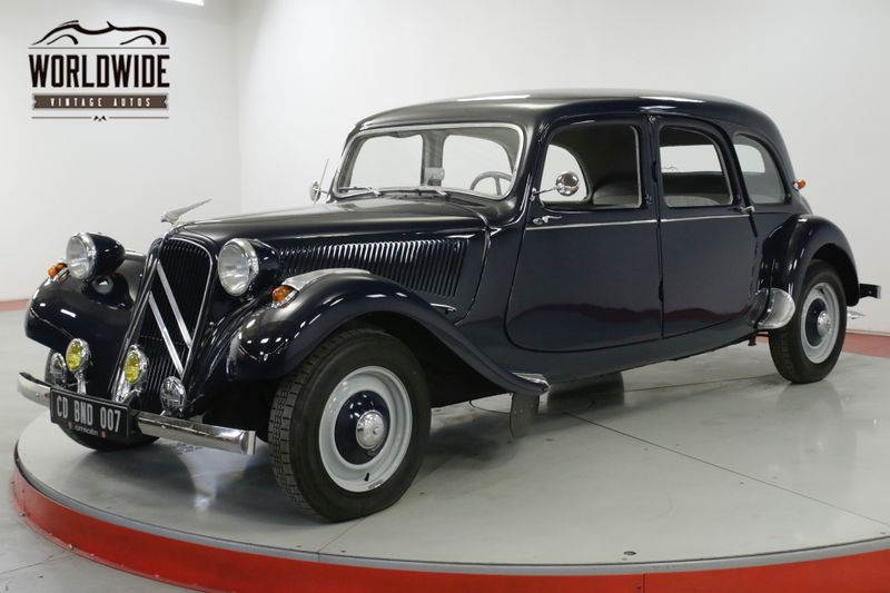 1956 Citroen TRACTION AVANT  RARE RESTORED  | Denver, CO | Worldwide Vintage Autos