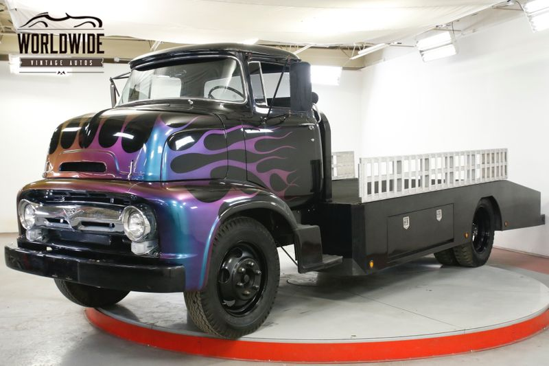 1956 Ford COE VERY RARE WORKING CAR HAULER CUSTOM PAINT | Denver, CO | Worldwide Vintage Autos
