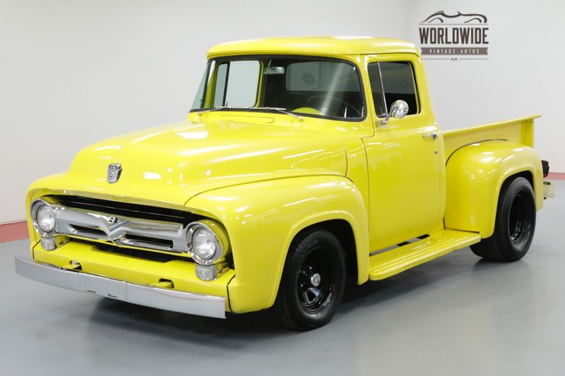 1956 Ford F100 CUSTOM HALF TON SHORT BOX FORD V8 AUTO TRANS | Denver, CO | Worldwide Vintage Autos