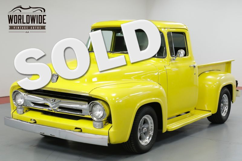 1956 Ford F100 CUSTOM HALF SHORT BOX. V8. AUTO. RESTORED | Denver, CO | Worldwide Vintage Autos
