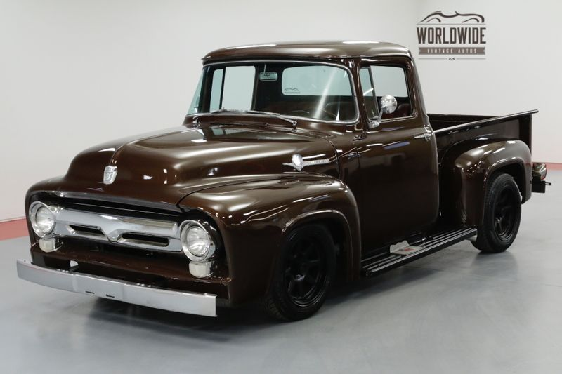 1956 Ford F100 V8 MUSTANG II FRONT END PS PB FRONT DISC | Denver, CO | Worldwide Vintage Autos