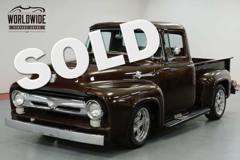 1956 Ford F100 RESTORED. V8 MUSTANG II. PS/PB FRONT DISC (VIP) | Denver, CO | Worldwide Vintage Autos