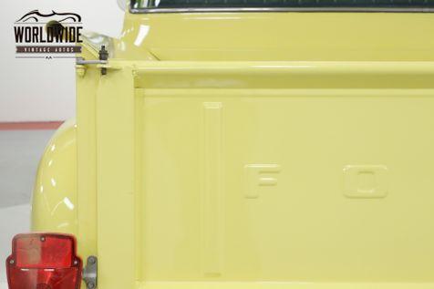 1956 Ford F100 RARE BIG WINDOW! CA TRUCK! V8! SHORT BED  | Denver, CO | Worldwide Vintage Autos in Denver, CO