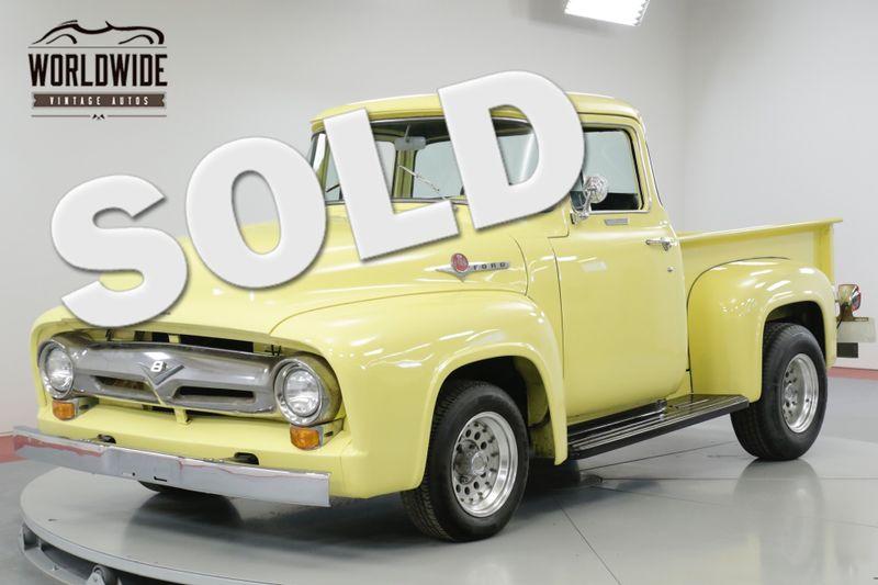 1956 Ford F100 RARE BIG WINDOW! CA TRUCK! V8! SHORT BED  | Denver, CO | Worldwide Vintage Autos