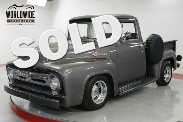 1956 Ford F100 HOT ROD CRATE 460V8 AUTO 4-WHEEL DISC PS | Denver, CO | Worldwide Vintage Autos in Denver CO