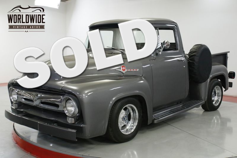 1956 Ford F100 HOT ROD CRATE 460V8 AUTO 4-WHEEL DISC PS | Denver, CO | Worldwide Vintage Autos