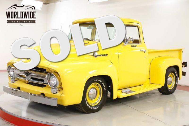 1956 Ford F100 RARE BIG WINDOW V8 CLEAN INTERIOR CUSTOM   Denver, CO   Worldwide Vintage Autos