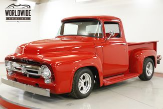 1956 Ford F100 RESTOMOD. VORTEC ENGINE VINTAGE AC DISC BRAKES  | Denver, CO | Worldwide Vintage Autos in Denver CO
