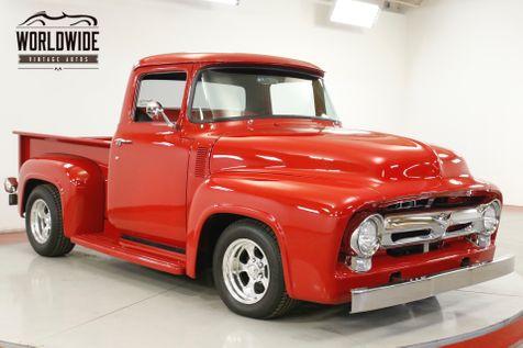 1956 Ford F100 RESTOMOD. VORTEC ENGINE VINTAGE AC DISC BRAKES  | Denver, CO | Worldwide Vintage Autos in Denver, CO