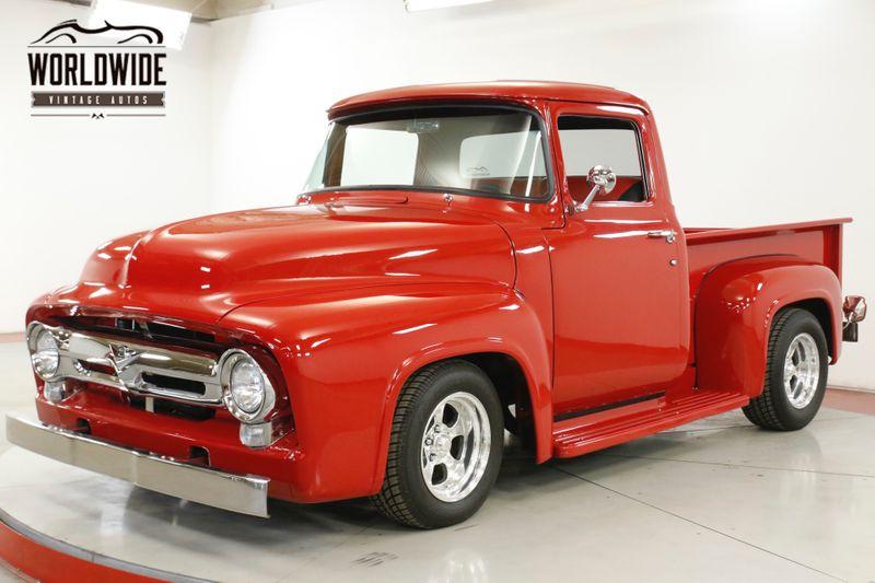 1956 Ford F100 RESTOMOD. VORTEC ENGINE VINTAGE AC DISC BRAKES  | Denver, CO | Worldwide Vintage Autos