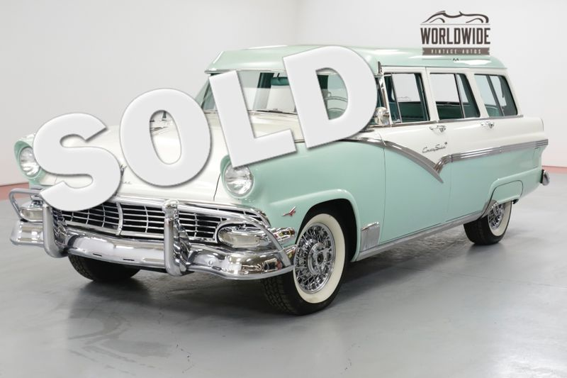 1956 Ford FAIRLANE COUTRY  TOP OF THE LINE 312 THUNDERBIRD V-8  | Denver, CO | Worldwide Vintage Autos