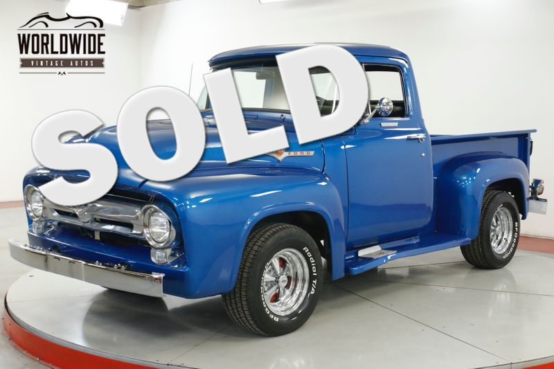 1956 Ford PICKUP V8 NEW PAINT GREAT COLOR COMBO   Denver, CO   Worldwide Vintage Autos