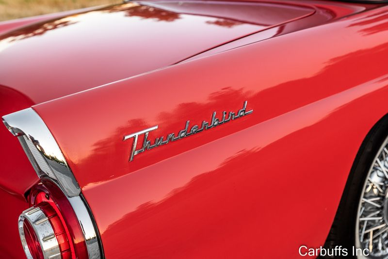 1956 Ford Thunderbird Roadster   Concord, CA   Carbuffs in Concord, CA