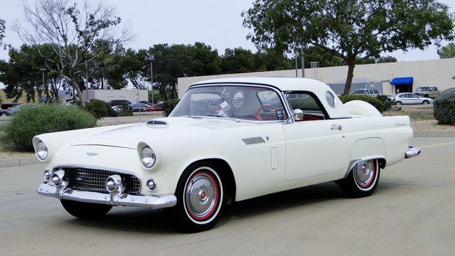 1956 Ford THUNDERBIRD 312 V8, AOD 4 SPEED AUTOMATIC ,A/C 2 TOP ROADSTER Phoenix, Arizona 2