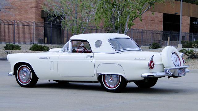 1956 Ford THUNDERBIRD 312 V8, AOD 4 SPEED AUTOMATIC ,A/C 2 TOP ROADSTER Phoenix, Arizona 24