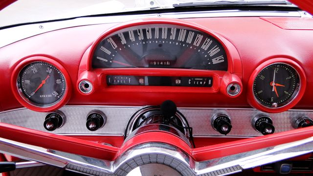 1956 Ford THUNDERBIRD 312 V8, AOD 4 SPEED AUTOMATIC ,A/C 2 TOP ROADSTER Phoenix, Arizona 12