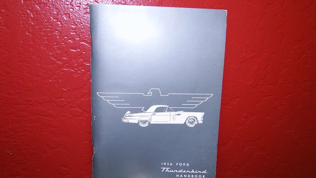 1956 Ford THUNDERBIRD 312 V8, AOD 4 SPEED AUTOMATIC ,A/C 2 TOP ROADSTER Phoenix, Arizona 39