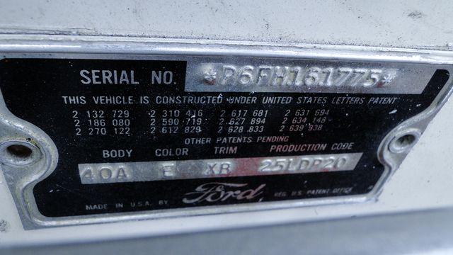 1956 Ford THUNDERBIRD 312 V8, AOD 4 SPEED AUTOMATIC ,A/C 2 TOP ROADSTER Phoenix, Arizona 33