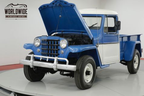 1956 Jeep WILLYS  350V8! RARE! 3-SPEED WITH HI AND LO 4X4! | Denver, CO | Worldwide Vintage Autos in Denver, CO