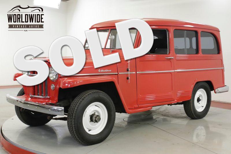 1956 Jeep WILLYS EXTENSIVE RESTORATION. COLLECTOR GRADE 4x4 | Denver, CO | Worldwide Vintage Autos