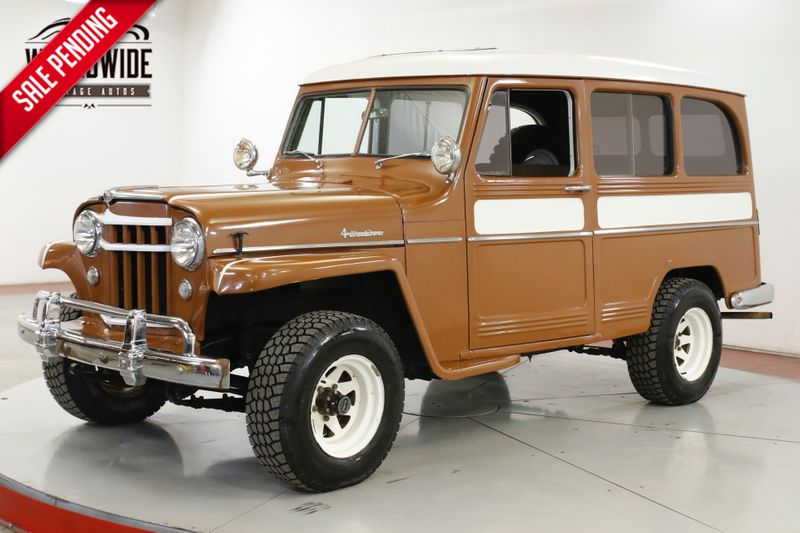 1956 Jeep WILLYS 4X4 OVERDRIVE TRANS COLLECTOR GRADE | Denver, CO | Worldwide Vintage Autos