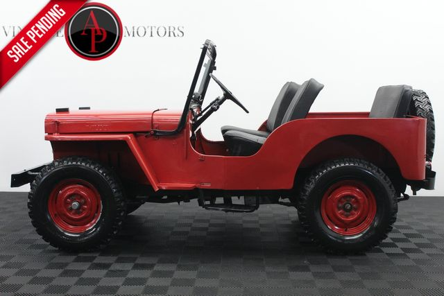 1956 Jeep Willys DJ-3A Convertible 40K ORIGINAL MILES