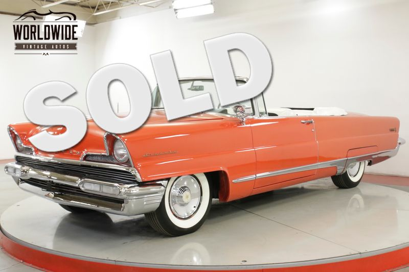 1956 Lincoln PREMIERE RARE 368 V8 AUTO PB PS WHITEWALLS COLLECTOR  | Denver, CO | Worldwide Vintage Autos