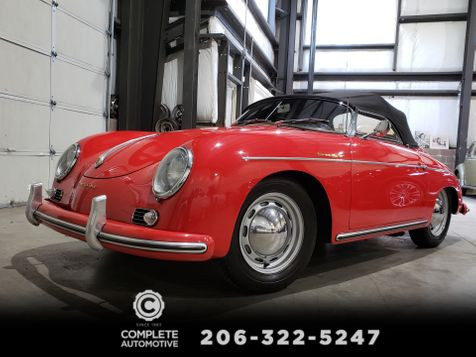 1956 Porsche 356A Speedster 1600 Yes It's a Real One! 1st Time Available Since 1985 in Seattle
