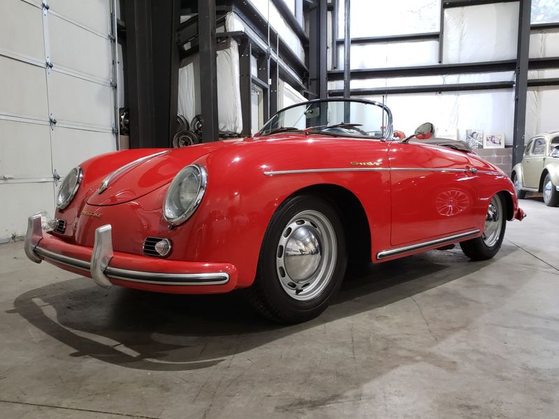 1956 Porsche 356A Speedster 1600 Yes Its a Real One 1st Time Available Since 1985  city Washington  Complete Automotive  in Seattle, Washington