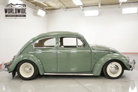 1956 Volkswagen BEETLE BUG EXTENSIVE RESTORATION OVAL WINDOW | Denver, CO | Worldwide Vintage Autos in Denver, CO