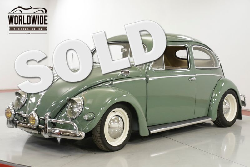 1956 Volkswagen BEETLE BUG EXTENSIVE RESTORATION OVAL WINDOW | Denver, CO | Worldwide Vintage Autos