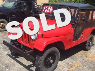 1956 Willys CJ6 2DR in Ontario, OH 44903