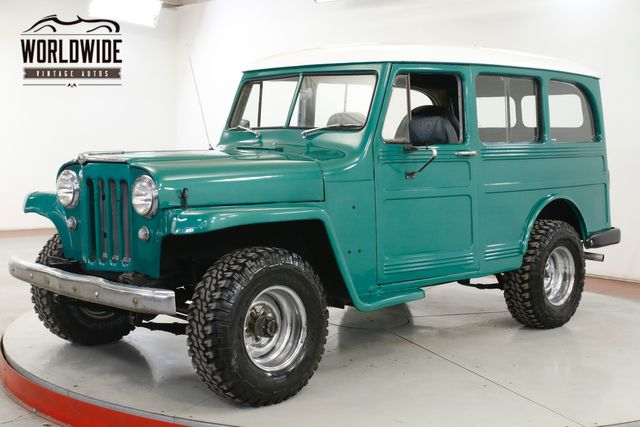 1956 Willys WAGON RARE 4X4. 4-SPEED. 4BRL. COLLECTOR GRADE.  | Denver, CO | Worldwide Vintage Autos in Denver CO