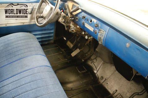 1957 Chevrolet PICK UP DURAMAX TURBO DIESEL 4x4 PATINA AUTO PS PB    Denver, CO   Worldwide Vintage Autos in Denver, CO
