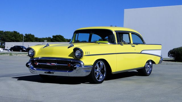 1957 Chevrolet 150 POST SEDAN HOLLYWOOD KNIGHTS STYLE Phoenix, Arizona 16