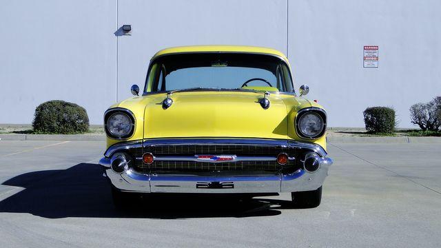 1957 Chevrolet 150 POST SEDAN HOLLYWOOD KNIGHTS STYLE Phoenix, Arizona 6