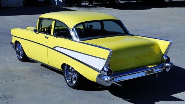 1957 Chevrolet 150 POST SEDAN HOLLYWOOD KNIGHTS STYLE Phoenix, Arizona 34