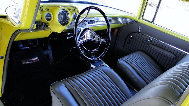 1957 Chevrolet 150 POST SEDAN HOLLYWOOD KNIGHTS STYLE Phoenix, Arizona 7